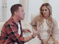 Cherie DeVille adores when her lover cum on her complexion increased by naked body