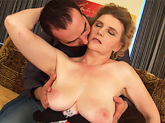 big moms first tit job