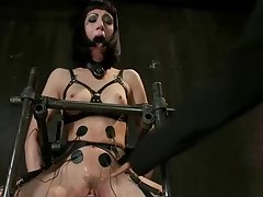 Horny xxx video BDSM wild full condensation