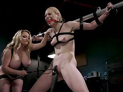 BDSM femdom confidential with Delirious Hunter increased by Aiden Starr