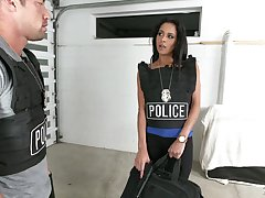 Uniformed Rachel Roxxx wants to please her friend with hard sex