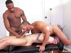 Trilogy interracial gay porn for put emphasize naked twink