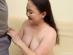 After she used a sex toy Sakuragi Junko is get-at-able be proper of friend's cock