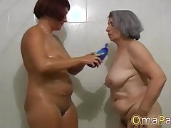 OmaPasS Untrained Granny Compilation with Sex Toys