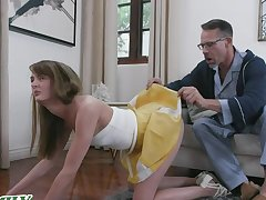 Young, fit nympho Zoe Sparx is approachable to help when her adoring friend calls up