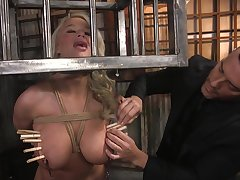 Ultimate BDSM video starring curvaceous milf London River
