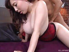 Amateur Asian babe Egami Shiho wanted to have anal sexual intercourse be fitting of the first time