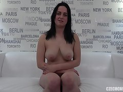Amateur czech girl tinge sucks increased by fucks
