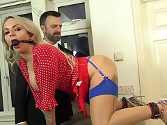 Rough maledom at home helter-skelter my horny wife