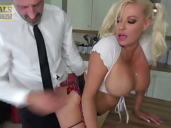 PASCALSSUBSLUTS - Busty Schoolgirl Michelle Thorne Driven