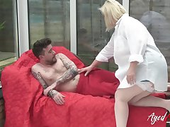 Cock sucking and mature hard rough sex with Lacey Starr and Luke Hotrod more main roles
