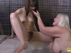 OldNannY Lacey Starr Seduced Super Hot Homoerotic